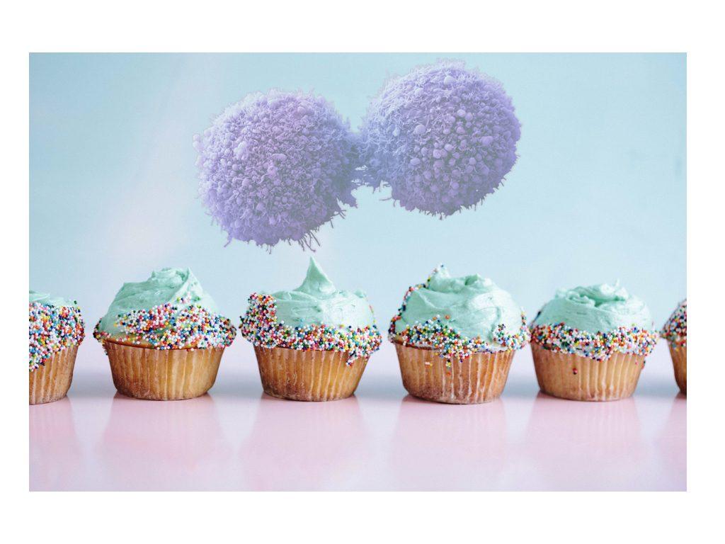 Sugar cupcake
